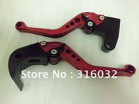 Triumph Dytona 675 06 07 08 09 10 11 12 Modified Short  Red Clutch and Brake Levers