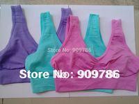 6 colors 180pcs/lot colourful Sexy Seamless Rhonda Shear Ahh bra Leisure genie bra yoga Bra - No box free shipping