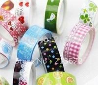 Fashions New Cute Cartoon Color Tape DIY Stick Tape Printed Tape Stationery Tape Office Adhesive Tape-20pcs/lot Joker Handwork