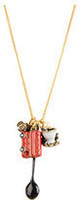 teapot love car  necklace       TQ-6.99