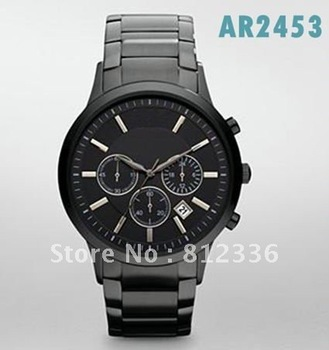 Free Shipping Brand New Quartz mens Watch With Original box And Certificate Model AR2453