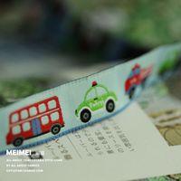 "5/8""16mmX10yards/lot Zakka handmade accessories laciness woven Jacquard Ribbon ribbon bus free shipping"