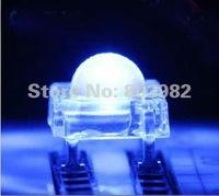 High brightness led 5MM Piranha LED 3000-4000MCD blue 4-legs DIP LED 460-475NM