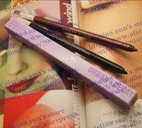 80PC/LOT  Waterproof eye pencil  Eyebrow Eye Liner Lip Eyeliner 24/7 Glide-On eyeliner pencil Free shipping 2 color
