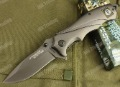 STRIDER 313 outdoor knife,56HRC,full steel handle,titanium ion knives,folding knife+Free shipping(SKUJAV010787)