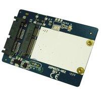 Free shipping---MSATA to SATA 1.8 Micro SATA-Mini SATA SSD