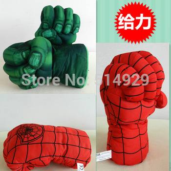 super spider the hulks boxing Gloves child superman for children freeshipping
