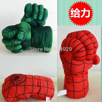 super spider the hulks boxing Gloves child superman for children freeshipping