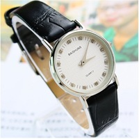 Fine diamond ultrathin dial ,leather brand women watch,148386 ,freeshipping  wholesale ,Christmas gift