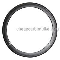 100% Full Carbon Top quality carbon cycle rims 700C 60mm Clincher Rim UD Bright Finish road bike Fiber Bicycle Wheel