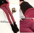 Free shipping Hot Selling Fashion Winter causal slim Thicken Warm Women&#39;s Backing Pants Leggings