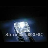 New 6000-6500K white color 3mm led Piranha LED 4-pins DIP LED 3.0-3.5V 15-20mA