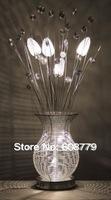 Free Shipping Elegant Modern European Crystal Floor Lamps For Living Room