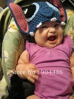 Lovely animal hat Knitted handmade  hat for baby gift