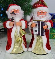 Christmas gift christmas electric toy gift lanterns accordion rotating musical