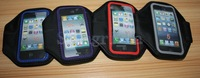 newest Sport ArmBand leather Case for apple iphone 5 5g , Solf Belt arm band For iphone5 free shipping