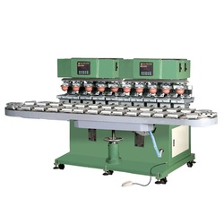 LC-SPM10-150/30L 10-color Pad Printer With Conveyer(China (Mainland))