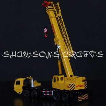 DIE CAST METAL 1:55 MODEL TOYS GIANT CRANE TRUCK HEAVY VEHICLE MODEL REPLICA
