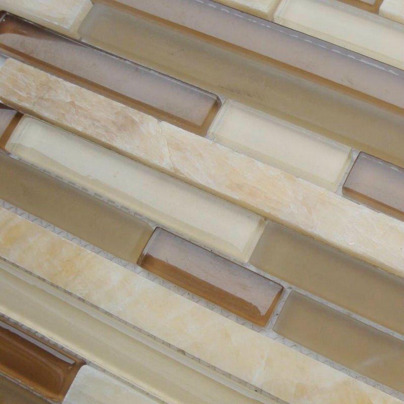 Stone glass tile koop goedkoop stone glass tile van chinese stone glass tile leveranciers bij - Deco douche tegel ...