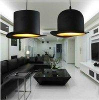 2 Light New Modern FABRIC Bowler/Tall Hat Pendant Lamp Lighting