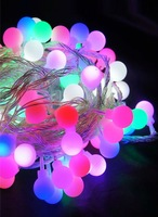 Spherical seven color 10 m 100 star LED Christmas waterproof lamp