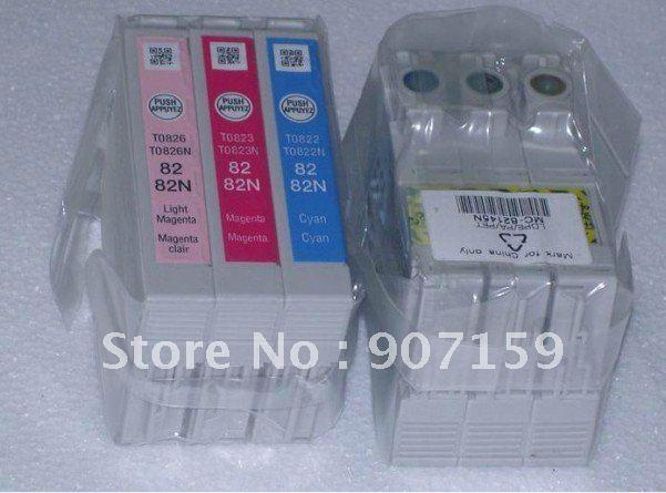 82N genuine ink cartridge for EP T50/TX700FW/TX650/TX800FW/R270/R290/RX590/RX610/RX690 printer;(T0821N-T0826N)(China (Mainland))