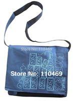 Customize non woven school bag, non woven shoulder bag, fashion shoulder bag  shoulder bags +with logo printing