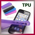 TPU Soft Crystal Skin Case Gel Cover For Apple iPhone 5 Phone Accessory, 100pcs/lot