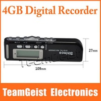 Brand NEW 4GB MINI DVR DIGITAL VOICE RECORDER With Telephone Recorder Dictaphone MP3 Player Audio Recorder