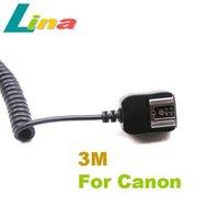 3M E-TTL II TTL Off Camera Flash Sync Cord Cable for Canon 580EX 430EX II 550EX OC-E Free Shipping