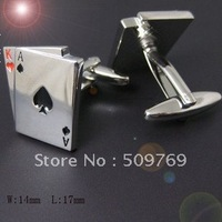Poker Cufflinks , Men's Cuff links   Free shipping ! 1301