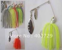 Приманка для рыбалки New design 10pcs metal VIB fishing lure 42mm/7g mixed 3 colors by China post