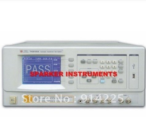 TongHui TH2818XA Automatic Transformer Tester Meter System 20 Hz to 300 kHz Test/freeshipping(China (Mainland))