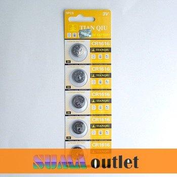 50PCS CR1616 1616 ECR1616 5021LC coin Button Battery