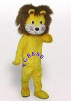 New Lovely Lion Cartoon Cosplay Mascot Costume Christmas Hallowmas Party Dress+free shipping