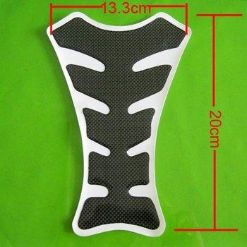 6pcs/lot Motorcycle Carbon Fiber Resin Sport Tank Pad Protector