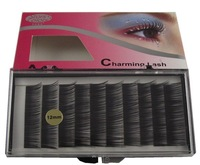 Korea C CURL  0.12mm 6/8/10/12mm Artificial Fake Lash  INDIVIDUAL EXTENSION EYELASH Black Color Eyelashes
