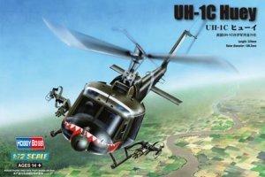 Hobby Boss model 87229 1/72 UH-1C Huey plastic model kit(China (Mainland))