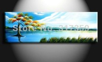 Free shipping Landscape canvas art 1pc/set oil paintings  No framed acrylic paintings art