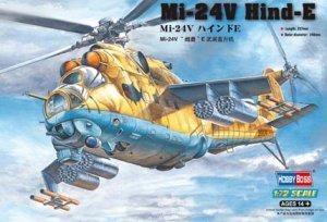 Hobby Boss model 87220 1/72  Mi-24V  Hind-E plastic model kit