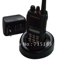 Free shipping GP338 VHF/UHFProfessional two-way radio with keypad and LCD display