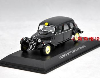 Small norev1 : 43 black citroen traction webworm car model more pcs more discount free ship dropshipping