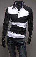 Mens T-Shirt - high quality strip-type T-shirt Summer fashion sleeves brands sports t shirts