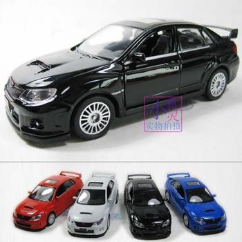SUBARU wrx sti car model alloy car models acoustooptical WARRIOR more pcs more discount free ship dropshipping