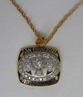 1989 San Francisco 49ers Super Bowl ChampionShip pendant, rare Top quality, super elegant FREE SHIPPING, customize
