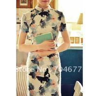 Традиционное китайское платье MOMO cheongsam MOMO_TOBO