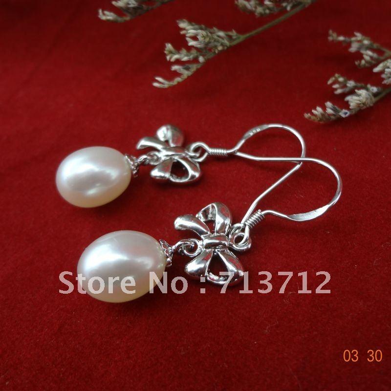 Star perles de style boucle d'oreille 925 accessoire charmant et élégant cadeau d'anniversaire pour les amis