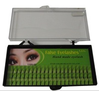 240 Pcs 4 Box INDIVIDUAL EYE LASH SALON Tools Lash  8/10/12mm False Black EYELASH EXTENSION