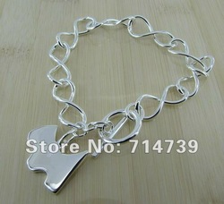 GY-PB292 Free Shipping Wholesale 925 silver Jewelry Fashion Bracelets, 925 Silver Bracelets awea jnla seua(China (Mainland))
