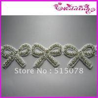 New Arrive Bridal Motif Glass Stone Shine Sashes Wedding Belt